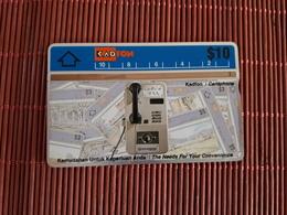 Phonecard Phone Malaysia 304 C Used Rare - Malaysia