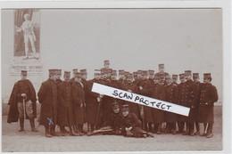 BALEN-ZAAL ST. BARBARA-FOTOKAART-MILITARIA-SOLDATEN-OFFICIEREN-1908-ZIE 2 SCANS-PRACHTIG DOCUMENT ! ! ! - Balen