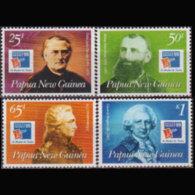 PAPUA NEW GUINEA 1999 - Scott# 970-3 Franchmen Set Of 4 MNH - Papúa Nueva Guinea