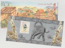 France 2009 - Bloc Souvenir Philatélique N°36 Année Du Buffle Year Of The Ox Chinese New Year Nouvel An Chinois - Bloques Souvenir
