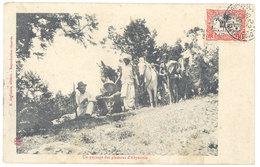 Cpa Afrique, Abyssinie - Un Paysage Des Plateaux D'A. - Cartes Postales