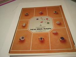 ANCIENNE PUBLICITE JOALLIER M. MAUBOUSSIN 1980 - Bijoux & Horlogerie