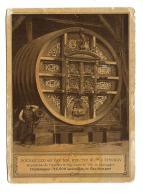 EPERNAY MM. MERCIER ET CIE  FOUDRE EPOSE CARTON PUBLICITAIRE FORMAT 11 X 15 Cm Avec Défaut - Advertising