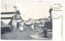 Cpa Afrique - Sierra Leone - Freetown - Kroo Town Road - Sierra Leone