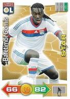 CARTE PANINI ADRENALYN XL LIGUE 1 SAISON 2011-12 – OLYMPIQUE LYONNAIS BAFETIMBIS GOMIS STAR - Trading Cards