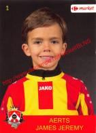 James Jeremy Aerts 1 Voetbalclub KSK Schilde - Adesivi