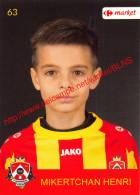 Henri Mikertchan 63 Voetbalclub KSK Schilde - Adesivi