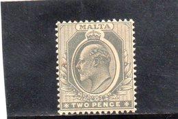 MALTE 1907-11 * - Malta (...-1964)