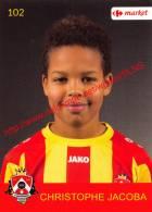 Christophe Jacoba 102 Voetbalclub KSK Schilde - Adesivi