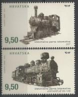 HR 2016-1243-4 LOCOMOTIVE, 1 X 2v, MNH - Eisenbahnen