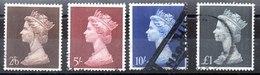 Serie De Gran Bretaña Nº Yvert 487/90 (o) - 1952-.... (Elizabeth II)