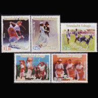 TRINIDAD 2005 - Scott# 744-8 Heritage Fest. Set Of 5 MNH - Trinidad & Tobago (1962-...)