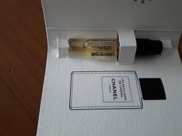 CHANEL**Les Exclusifs**MISIA** Echantillon Sur Carte - Cartes Parfumées