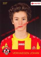 Johan Verhaegen 337 Voetbalclub KSK Schilde - Adesivi