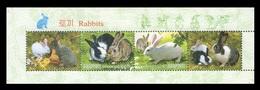 North Korea 2011 Mih. 5676/77 Fauna. Year Of The Rabbit (booklet Sheet) MNH ** - Korea (Nord-)