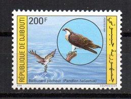Sello Nº 678   Djibouti - Águilas & Aves De Presa