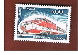 FRANCIA  (FRANCE)      -  SG 2055 -  1974  TURBOTRAIN TGV - MINT ** - Nuovi