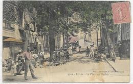 83. LE LUC.  LA PLACE AUX HERBES - Le Luc