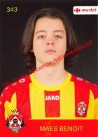 Benoit Maes 343 Voetbalclub KSK Schilde - Adesivi