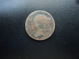ROYAUME UNI : 1 FARTHING  1847   KM 725     B - B. 1 Farthing