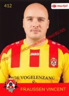 Vincent Fraussen 412 Voetbalclub KSK Schilde - Vignettes Autocollantes