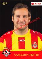 Dimitri Vangorp 417 Voetbalclub KSK Schilde - Vignettes Autocollantes