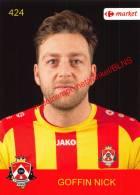 Nick Goffin 424 Voetbalclub KSK Schilde - Vignettes Autocollantes