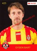 Bart Gysen 425 Voetbalclub KSK Schilde - Vignettes Autocollantes