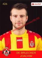 Joachim De Bruecker 426 Voetbalclub KSK Schilde - Vignettes Autocollantes