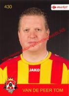 Tom Van De Peer 430 Voetbalclub KSK Schilde - Vignettes Autocollantes