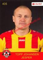 Jesper Topp Johansen 435 Voetbalclub KSK Schilde - Vignettes Autocollantes