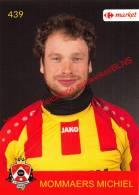 Michiel Mommaers 439 Voetbalclub KSK Schilde - Vignettes Autocollantes