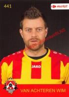 Wim Van Achteren 441 Voetbalclub KSK Schilde - Vignettes Autocollantes