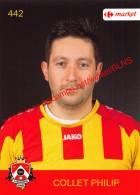 Philip Collet 442 Voetbalclub KSK Schilde - Vignettes Autocollantes