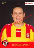 Sarah D'Haese 447 Voetbalclub KSK Schilde - Vignettes Autocollantes