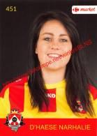 Narhalie D'Haese 451 Voetbalclub KSK Schilde - Vignettes Autocollantes