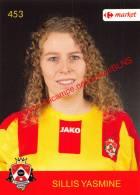 Yasmine Sillis 453 Voetbalclub KSK Schilde - Vignettes Autocollantes