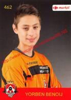 Yorben Benoij 462 Voetbalclub KSK Schilde - Vignettes Autocollantes