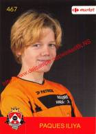 Iliya Paques 467 Voetbalclub KSK Schilde - Vignettes Autocollantes