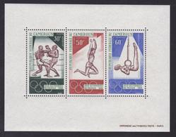 CAMEROUN BLOC N°    4 ** MNH Neuf Sans Charnière, TB (CLR350) Sports, Jeux Olympiques De Mexico - Cameroun (1960-...)