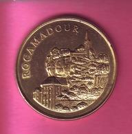 MEDAILLE  SOUVENIR  DE ROCAMADOUR AVEC AU REVERS BLASON - Monnaie De Paris
