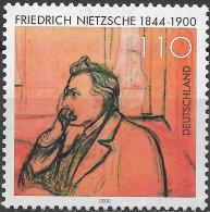 GERMANY 2000 Death Centenary Of Friedrich Nietzsche (philosopher) - 110pf Nietzsche (Edvard Munch) MH - [7] République Fédérale