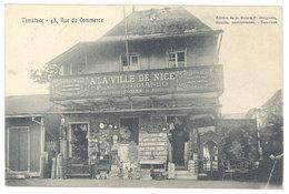 Cpa Afrique - Madagascar - Tamatave, 48, Rue Du Commerce ( à La Ville De Nice , Ghigiasso) - Madagascar