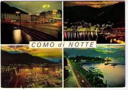 COMO DI NOTTE - PIAZZA CAVOUR - TRAMONTO (CO) - Como