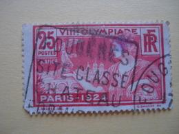 France- Timbre Poste Jeux Olympiques D'été De 1924 - France