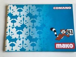 Catalogue COMANO MAKO 1981 - Toy Memorabilia