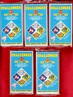 CHALLENGER 5 JEUX TEST DE 5 à 7 ANS N°1 à 5 DES ANNÉES 1992 AVEC BIBENDUM MICHELIN MANGO MAGNARD - NOTRE SITE Serbon63 - Jeux De Société