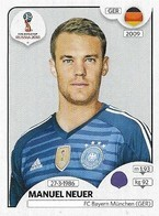 VIGNETTE PANINI FIFA WORLD CUP RUSSIA 2018 ALLEMAGNE MANUEL NEUER N°434 - Panini