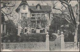 Villa Ariane, Lausanne, Vaud, 1909 - Zoller CPA - VD Vaud