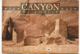 Navajo Nation.Canyon De Chelly (Navajo Tribal Lands), Arizona. (Antelope House),postcard Sent To Andorra - Amérique